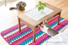 Bom dia meninas!     Encontrei esse tapete retangular no site japinha e claro trouxe para compartilhar com azamigas crocheteiras, rs!  ...