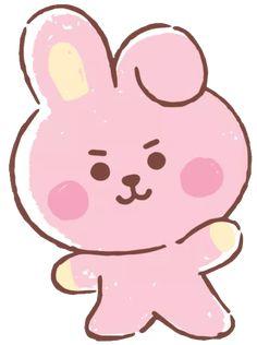 Cute Screen Savers, Bts Name, Fairy Tail Art, Blackpink And Bts, Foto Jungkook, Bts Drawings, Cute Doodles, Bts Chibi, I Love Bts