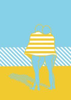 'On The Beach' - marina Esmeraldo