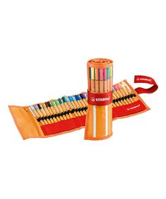 Look at this Fine Point Water-Based Roller Pen Set on #zulily today!