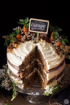 Tarta de zanahoria o carrot cake, la definitiva - Jaleo en la Cocina