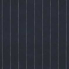 Walker Pinstripe - Navy - Ticking Library - Fabric - Products - Ralph Lauren Home - RalphLaurenHome.com