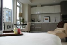 Airbnb Studio at English Bay Vancouver