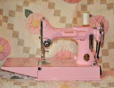 Maybe I should paint my old sewing machines.