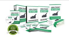 High Ticket Authority PLR Package Review  The Professional E-book That Show You How To Create And Sell Your Own High Ticket Product or Service And Attract High Paying Clients Comes Complete With Private Label Rights