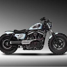 """2,759 Likes, 7 Comments - Harley-Davidson Sportster (@sportstergram) on Instagram: """"Taken from: { @motogarage_moscow } _________________________________ Tag #sportstergram …"""" #harleydavidsonsportster1200 #harleydavidsonbobberssportster"""