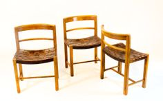 Six Rare Danish Dining Chairs In Rosewood | From a unique collection of antique and modern dining room chairs at http://www.1stdibs.com/furniture/seating/dining-room-chairs/