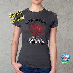 Family Reunion T-Shirt Personalized Family Reunion Family