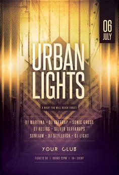 Urban Lights Flyer by styleWish