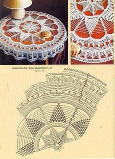Sin nombre Art Au Crochet, Crochet Mandala Pattern, Crochet Borders, Knit Crochet, Crochet Patterns, Crochet Tablecloth, Crochet Doilies, Mantel Redondo, Crochet Magazine