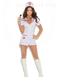 Ericdress Nurse Loveable Costume Career Costumes