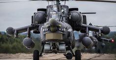 «Ночной охотник» Ми-28НМ поднялся в небо