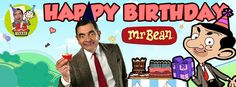 25 facts about Mr Bean to celebrate 25 years! Mr Bean Cartoon, 2nd Birthday, Happy Birthday, Cover Photos, Bright Pink, Ronald Mcdonald, Theater, Beans, Funny