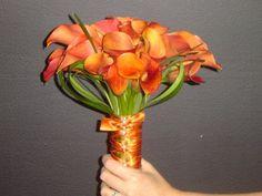 mango calla lilies | mango calla lily bouquet