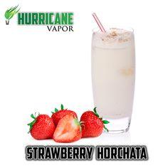 Hurricane Vapor | Strawberry Horchata