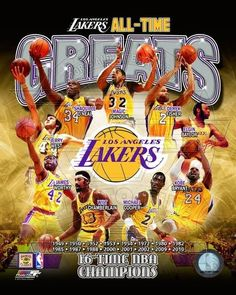 "La Lakers ""greats"" Kobe Bryant-magic Johnson-worthy-wilt Chamberlain 8x10 Photo from $6.99"