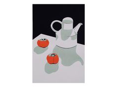 Image of Persimmons, Winter Table