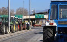 Προμαχώνας: Με δικό τους μπλόκο απαντούν οι Βούλγαροι οδηγοί φορτηγών στο μπλόκο των αγροτών