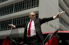 "Rupert Friend as Agent 47 in ""Hitman: Agent 47"", 2015"
