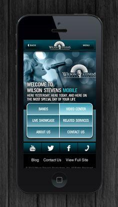 Wilson Stevens Mobile Site