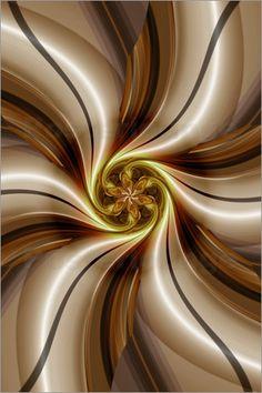 Blume Kaffeezeit Poster von Christine Bässler