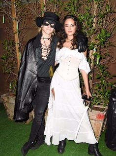 e177175e2c Ross Lynch Couples Up with Courtney Eaton at the Halloween Party!  Photo  Ross Lynch dresses up as Zorro while his girlfriend Courtney Eaton dresses  as Elena ...