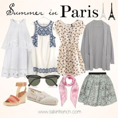 packing summer in Paris