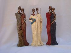 african lady figurines - Buscar con Google