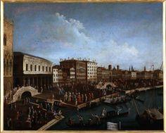 """""""Il passeggio sulla riva degli Schiavoni"""", 1782?-1792 #gabrielbella #querinistampalia"""