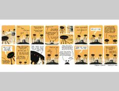 Neil and Peter :: Stephen Collins http://www.stephencollinsillustration.com/
