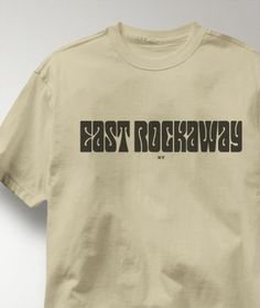 Cool East Rockaway New York NY Shirt from Greatcitees.com
