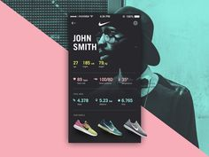 User Profile - Daily UI #006 by Nacho Ortega