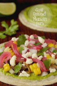 Slow Roasted Mexican Pork - thecafesucrefarine.com
