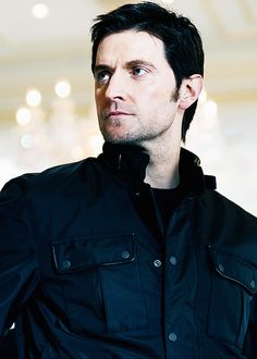 Richard Armitage as Guy of Guisborne from Robin Hood, Lucas North from MI-5, and John Thornton from North and South....sigh!