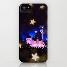 Wish Upon A Star iPhone Case by Lynsie Petig - $35.00    #Disney #disneyland #castle #iphone #3GS #3G #4 #4S #5