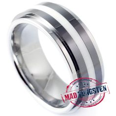 Glock Tungsten Rings for Men - Mad Tungsten - Tungsten Jewellery -  Wedding Rings