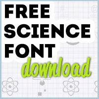 Must Have Free Science Font