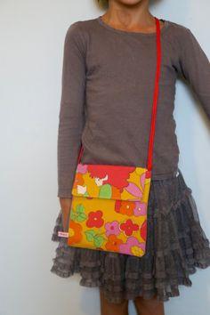 Little Bag - Original 60's Fabric