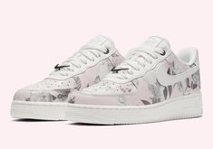 Nike Air Force 1 Low Floral Rose AO1017-102. Nike Air Force 1 Low Floral  Rose AO1017-102  thatdope  sneakers  luxury  dope  fashion  trending 1e1753ab5