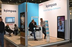 https://flic.kr/p/AGDsCo | kompas auf der viscom 2015 | Digital Signage im Retail: Bosch Experience Zone – Interaktives Digital Signage für Shopping-Malls – Wie kann man Videowalls ansteuern? – Vorträge im Rahmenprogramm – neueste kompas Version 8.0 mit regelbasiertem Buchen