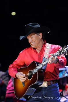 George Strait at Frank Erwin Center January 14th, 2011 Austin, Texas Sold out show kicking off his 2011 Tour
