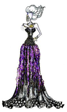 Disney Fashion Ursula