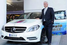 Mercedes Benz T Motors dealership in Indian capital houses Mercedes Cafe