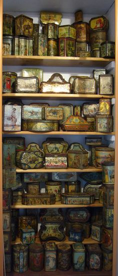 British biscuit tin collection