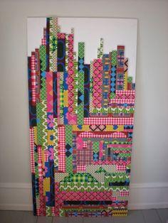 Perler patterns by swedish designer Cilla Ramnek