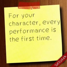 Think about this while acting. Drama Theatre, Theatre Quotes, Theatre Nerds, Music Theater, Broadway Theatre, Acting Quotes, Acting Tips, Hamilton, Teaching Theatre