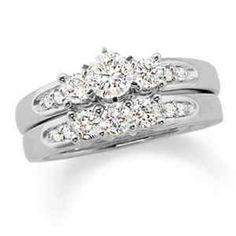 2 CT Diamond Wedding Ring Set - $2000 (Sewickley, PA)