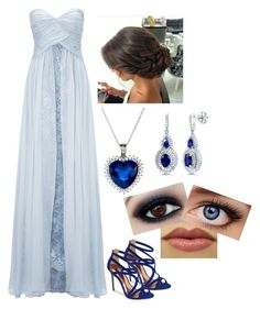 """""""The Jewel of His Life: Lia's Yule Ball Outfit"""" by fanfiction-author on Polyvore featuring beauty, Ted Baker, Ariella and BERRICLE"""