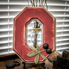 Rustic Ohio State Block O by RusticOhio on Etsy