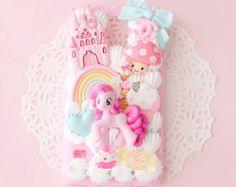 CUSTOM My Little Pony Decoden iPhone Samsung Phone Case Kawaii Cute